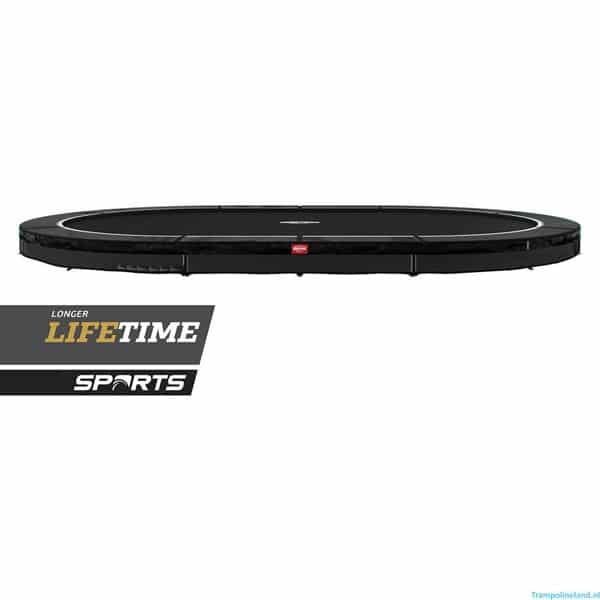 Berg Grand Favorit 520 Inground Trampoline Black