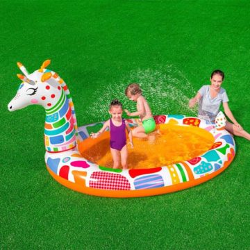 Bestway 53089 Giraffe Pool With Water Spray