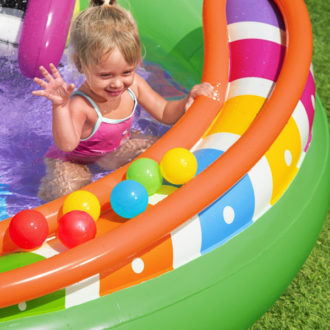 Bestway 53117 H2ogo! Sing 'n' Splash Inflatable Kids Water Center