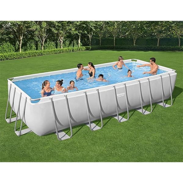 Bestway 5611z 21ft X 9ft X 52″ Framed  Pool Rectangular 640x274x132cm