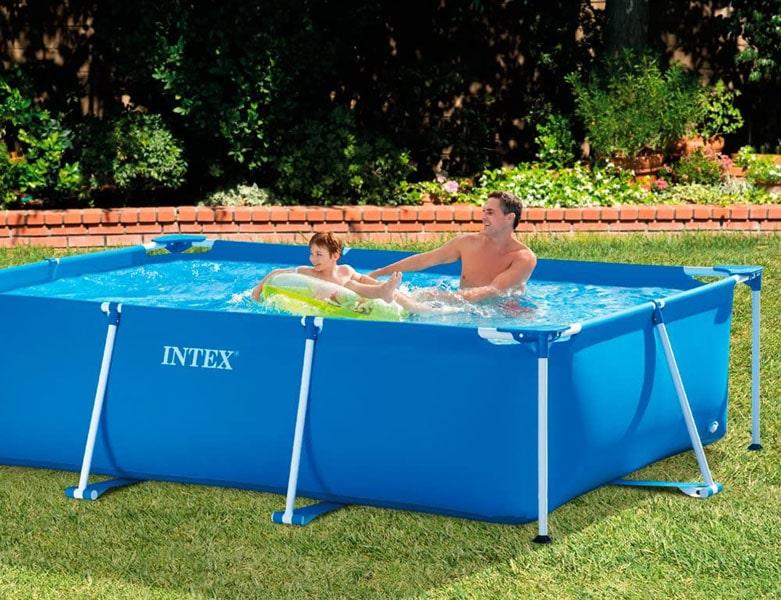 Intex 9ft 10in Metal Framed Pool (28272np)