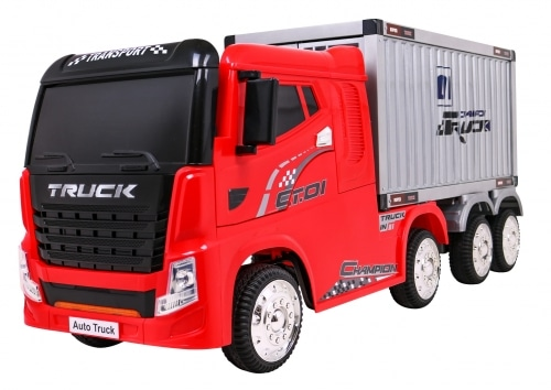 12v Container Truck Electric Ride On Red