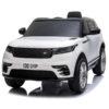 Kids 12v Range Rover Velar Licenced Ride On Car White