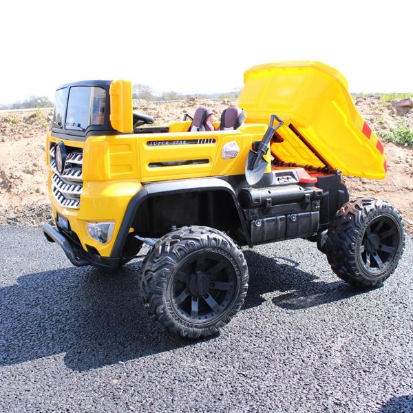 Kids Electric Dumper Truck Skip Lorry Ride On