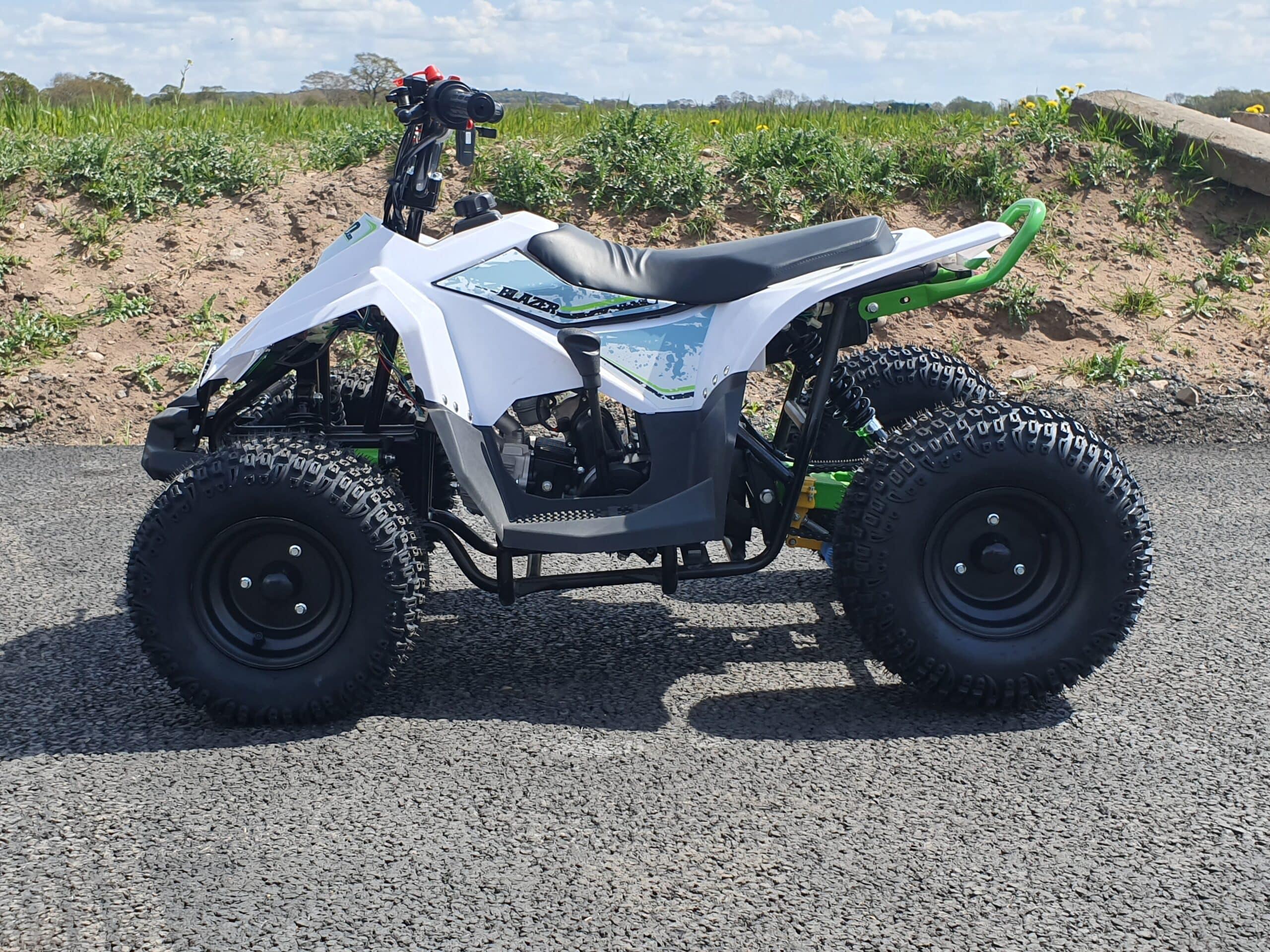 Hawkmoto Volkan Kids Quad Bike Green