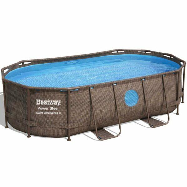 Bestway 56946 16ft Power Steel Vista Pool