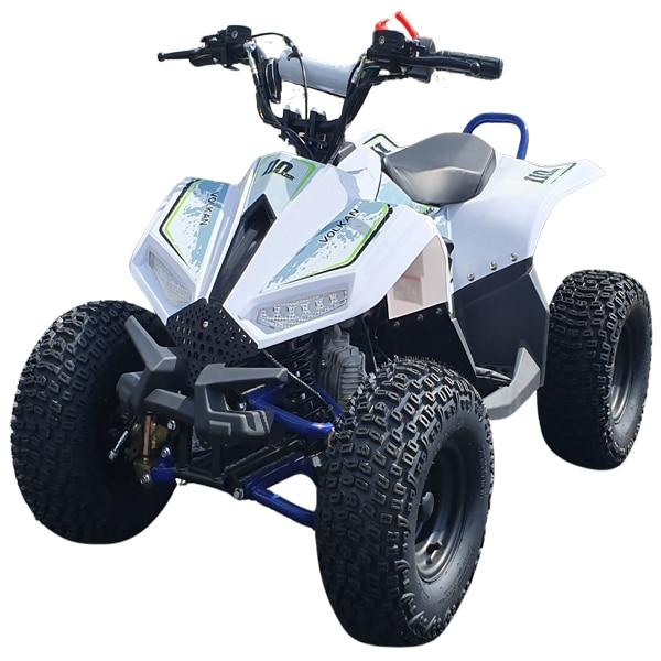 Hawkmoto Volkan Kids Auto 110cc Quad Bike  Blue