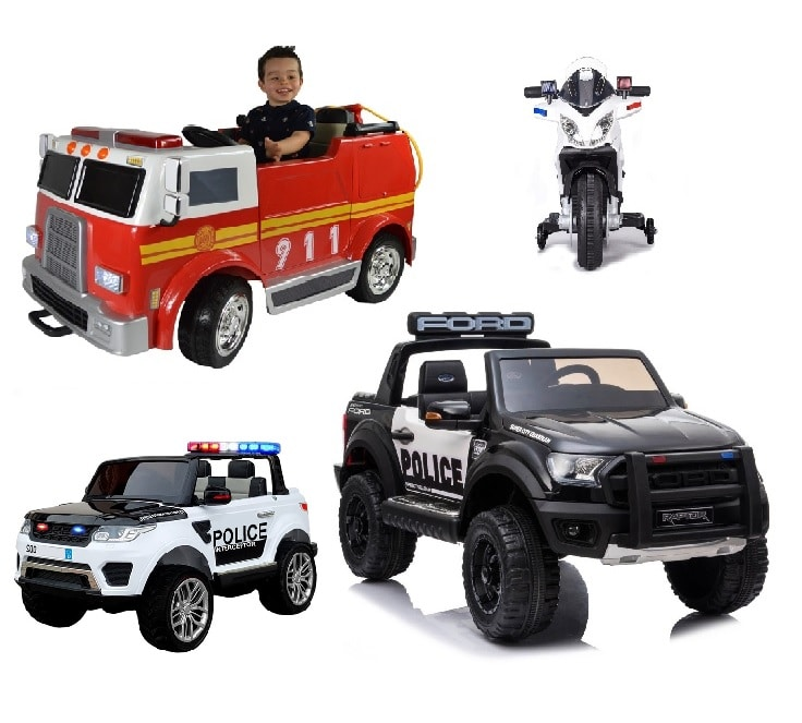 Kids Emergency Service Electric Ride On Toys