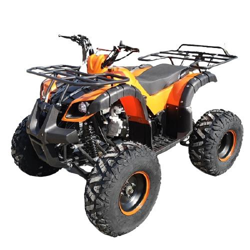 Hawkmoto Force 125cc Kids Quad Orange