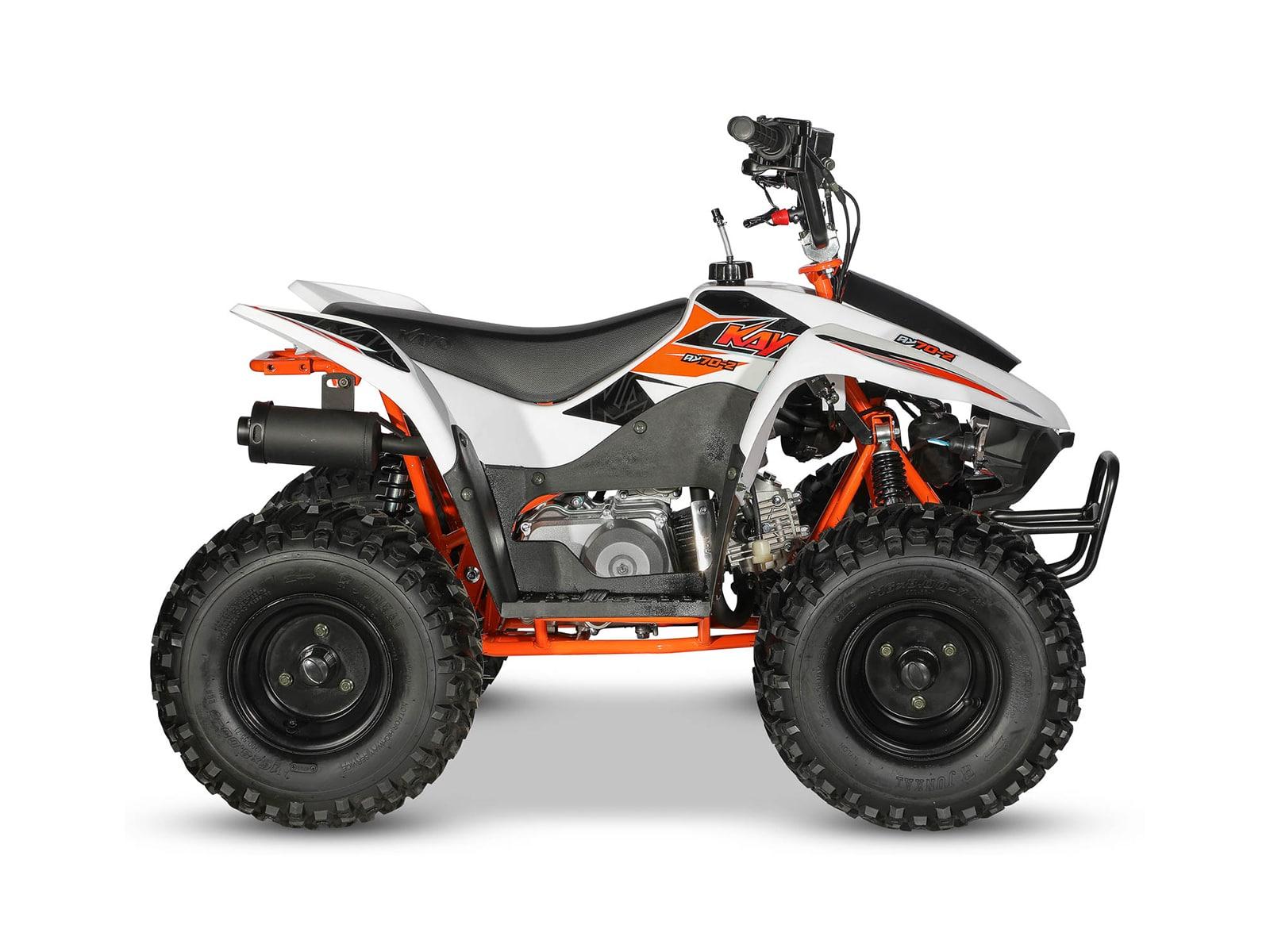 Kayo Stomp Fox Ay70-2 70cc Kids Quad Bike