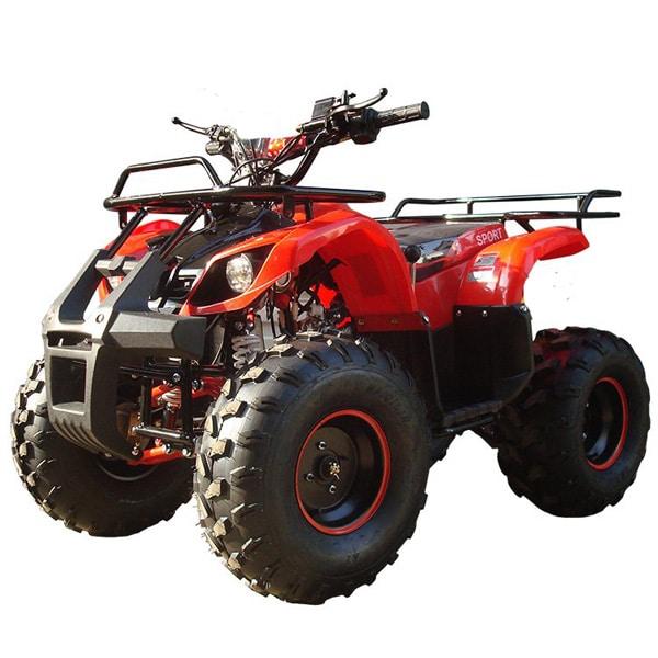 Hawkmoto Force 125cc Kids Quad Red