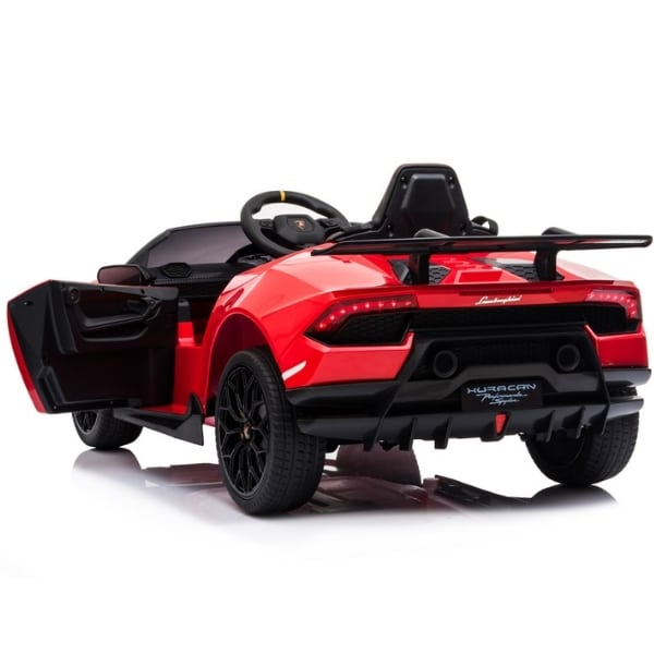 12v Lamborghini Huracan 4wd Licensed Kids Electric Ride On Car – Red