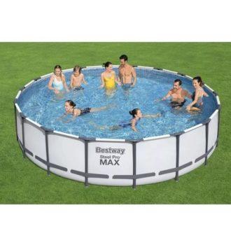 Bestway 56462 18ft Steel Max Pro Swimming Pool