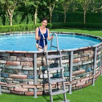 Bestway 56993 13ft 6in Steel Pro Swimming Pool