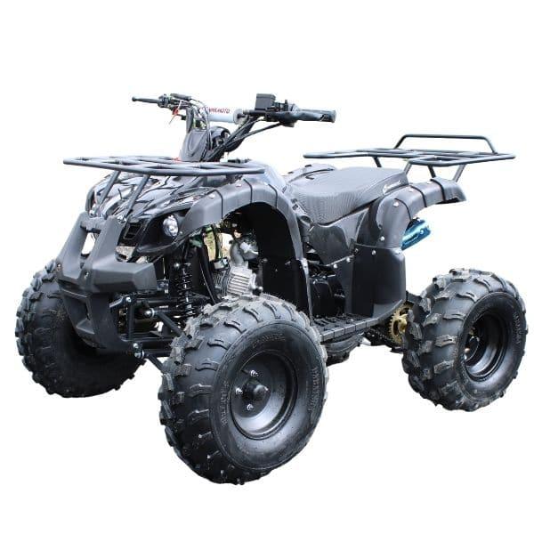Hawkmoto Force 125cc Kids Quad Black