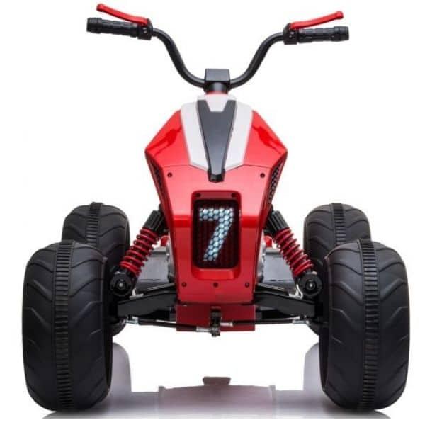 24v Kids Electric Quad Bike Red