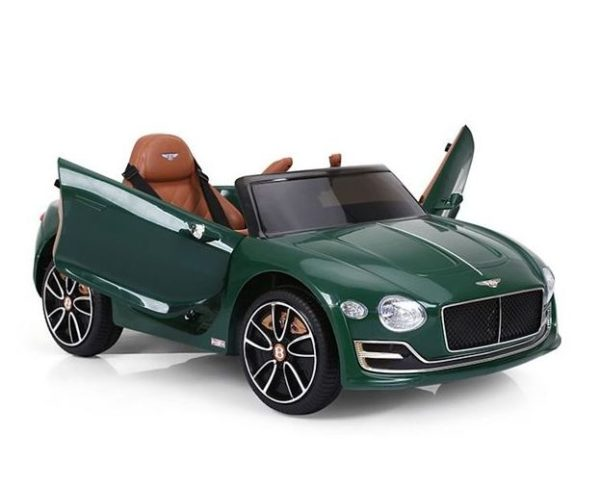 Licensed Bentley Exp12 12v Ride-on Children's Battery Operated Electric Car – Metallic Green
