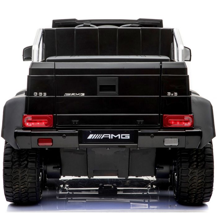 Mercedes Benz G63 6×6 Kids Electric Ride On Jeep Black