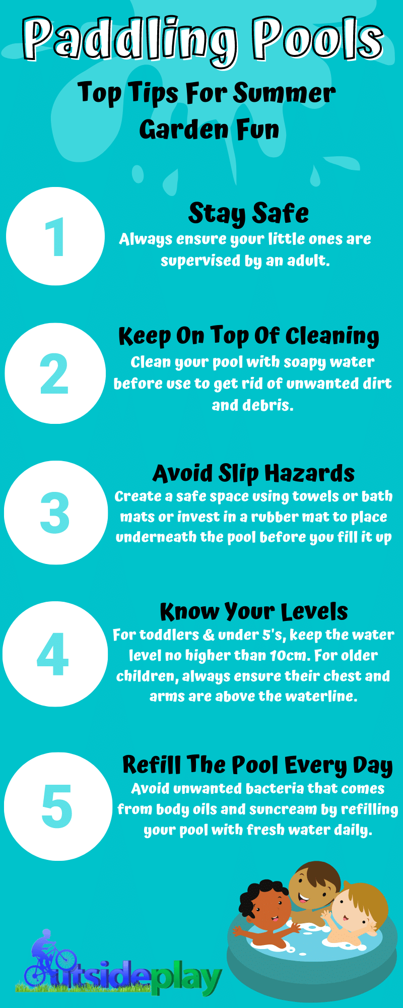 Paddling Pools – Top Tips For Summer Garden Fun