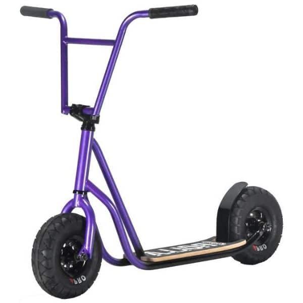Rocker Rolla Scooter Grey Purple Fade