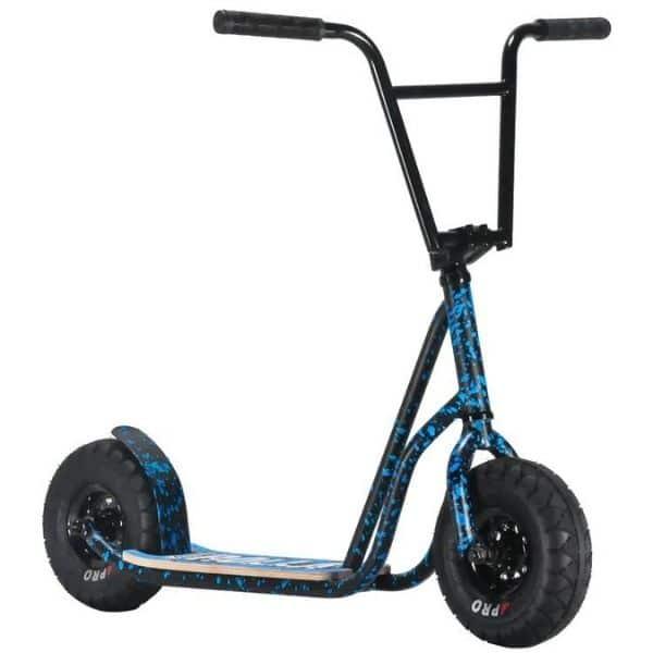 Rocker Rolla Scooter Blue Splatter