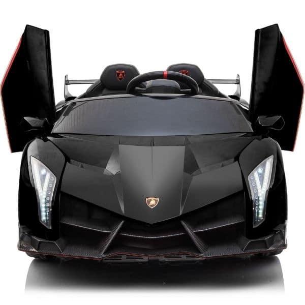 24v Licenced Kids Lamborghini Veneno Black