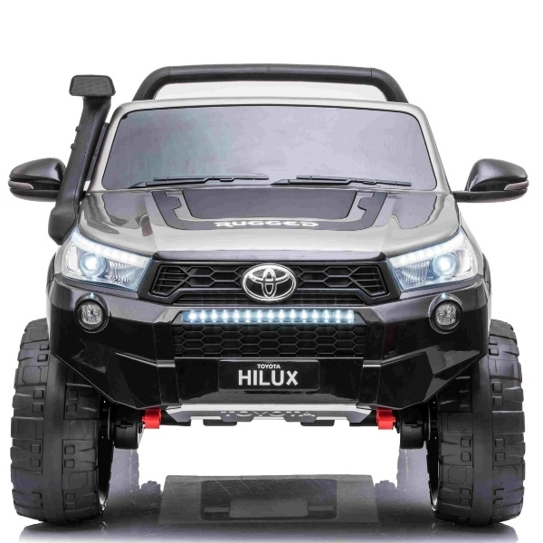Kids 24v Electric Toyota Hilux Ride On With 4wd – Grey