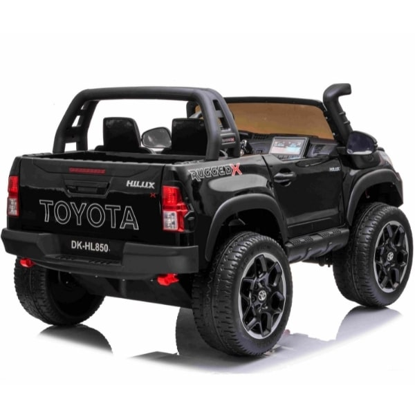 Kids 24v Electric Toyota Hilux Ride On With 4wd – Black
