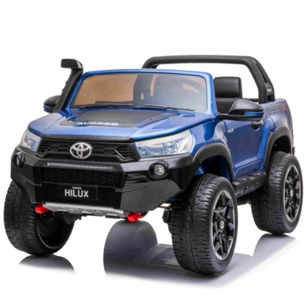 Kids 24v Electric Toyota Hilux Ride On With 4wd – Blue