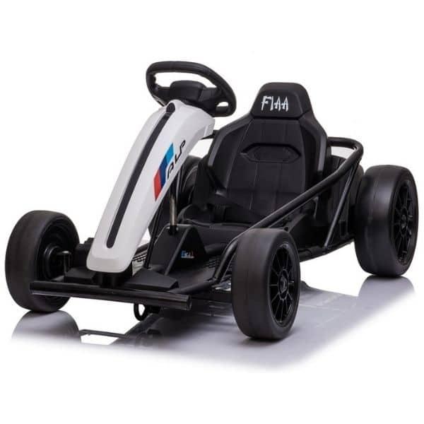 24v-kids-electric-drift-go-kart-white