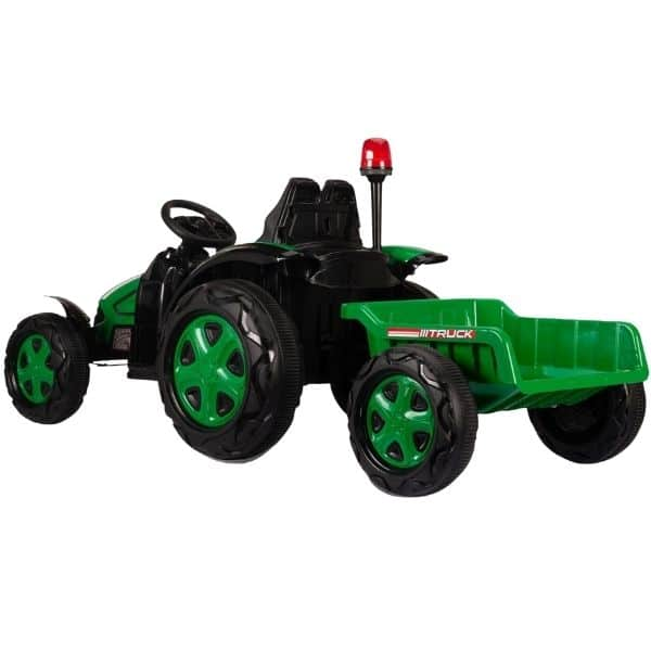 Electric-tractor-and-trailer-HZB-200-Green-1