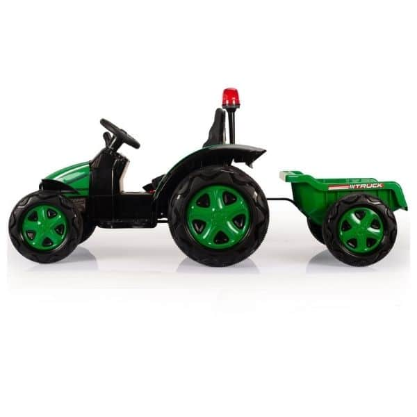 Electric-tractor-and-trailer-HZB-200-Green-3