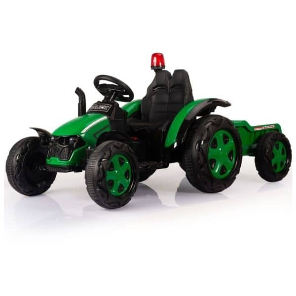 Electric-tractor-and-trailer-HZB-200-Green-4
