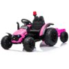 Electric-tractor-and-trailer-HZB-200-Pink-1