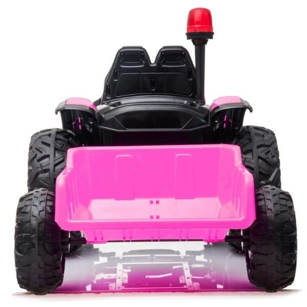 Electric-tractor-and-trailer-HZB-200-Pink-4