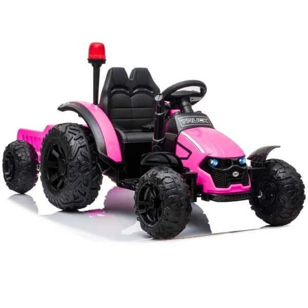 Electric-tractor-and-trailer-HZB-200-Pink-6
