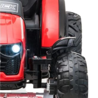 Electric-tractor-and-trailer-HZB-200-Red-1