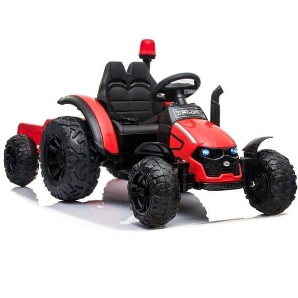 Electric-tractor-and-trailer-HZB-200-Red-4