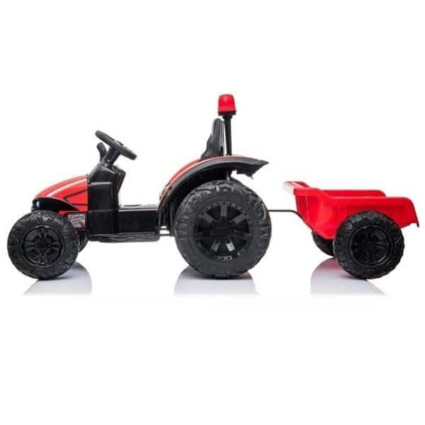 Electric-tractor-and-trailer-HZB-200-Red-6