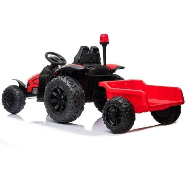 Electric-tractor-and-trailer-HZB-200-Red-7
