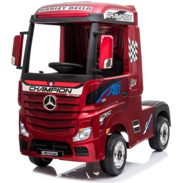 Kids-Mercedes-Actros-Metalic-Red-11