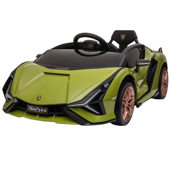 Lamborghini_Sian_Green