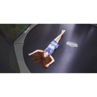 Berg Champion Grey 430 Trampoline with Safety Net Deluxe