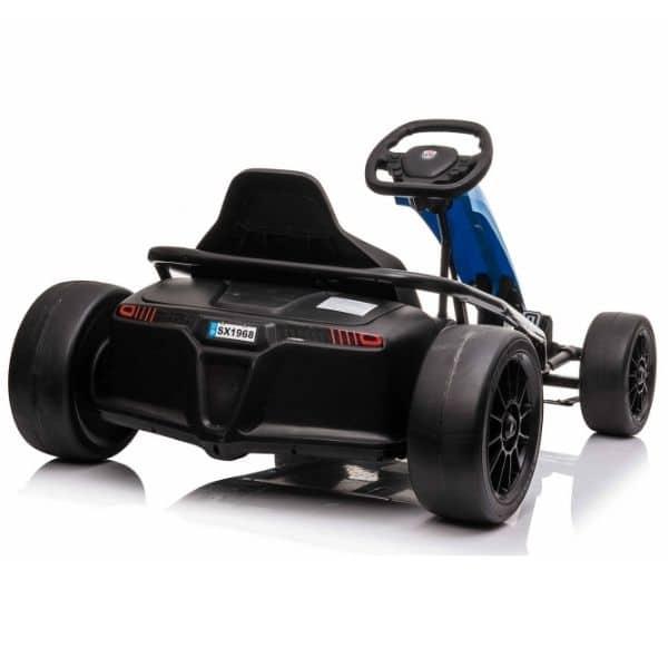 blue-drift-go-kart
