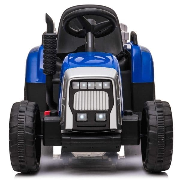 12V-Kids-Electric-Tractor-with-Trailer-and-Remote-Blue-2