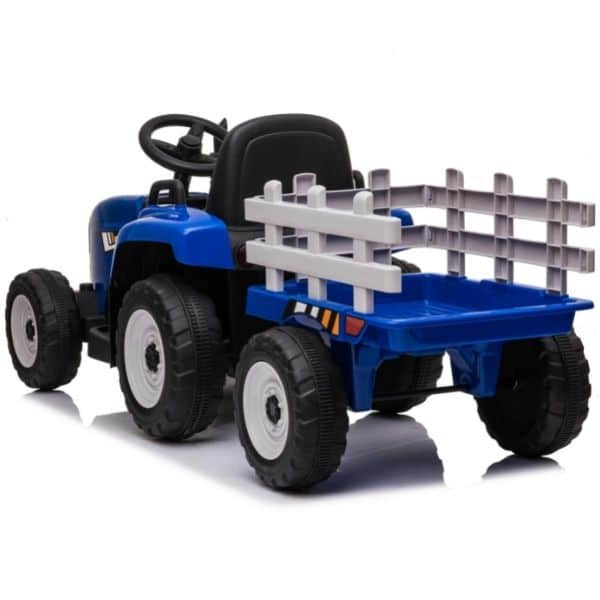 12V-Kids-Electric-Tractor-with-Trailer-and-Remote-Blue-7