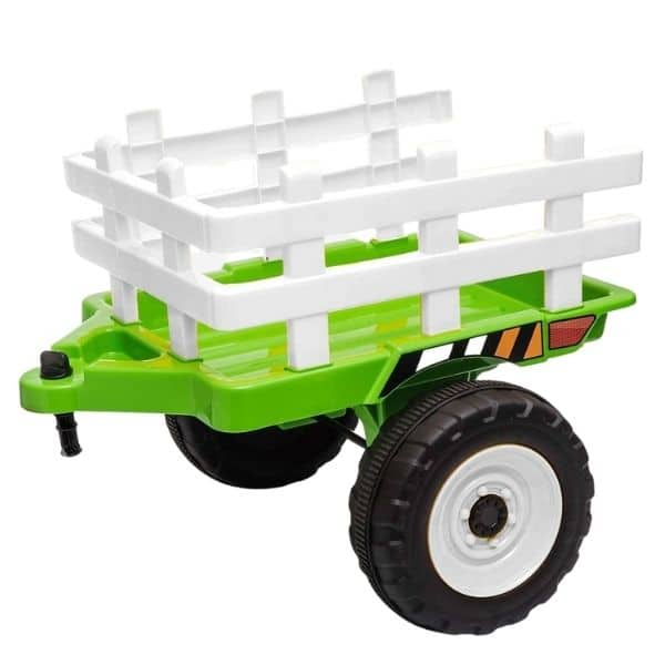 12V-Kids-Electric-Tractor-with-Trailer-and-Remote-Green-6