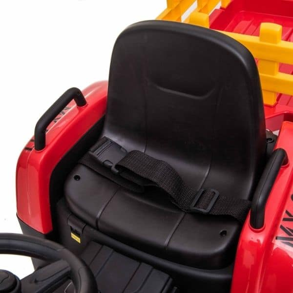 12V-Kids-Electric-Tractor-with-Trailer-and-Remote-Red-11