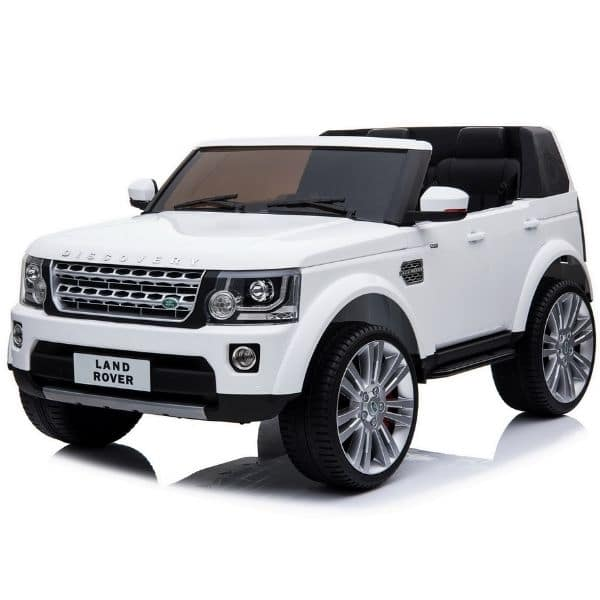 KIDS-LAND-ROVER-DISCOVERY-TWIN-SEAT-WHITE-6